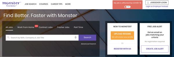 Monster求職網站